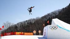 Katie Summerhayes: British freestyle skier ruptures knee ligament for third time