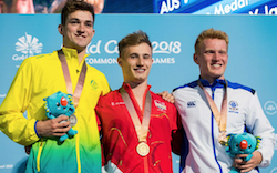 Jack Laugher strikes gold for England to keep diving hat-trick hopes on course at Commonwealth Games