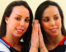 OLYMPIC bronze medal-winning gymnast Beth Tweddle met with Wigan pupils as part of a cultural and sports exchange programme.