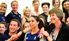 Former Olympic gymnast Beth Tweddle shares sporting insights with York College students