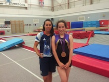Brave Charlotte has a spring in her step after Starlight grants her wish to meet gymnast Beth Tweddle