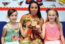 Olympian Beth Tweddle draws crowds at Wincham school summer fair