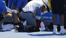 Australian Open 2014: Dancevic complains of 'inhumane' treatment
