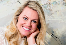 Emotional ties: Olympic skier Chemmy Alcott on tea-towel nuptials and her passion for pingpong