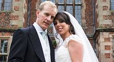 Beth Tweddle marries long-term beau Andy Allen in stunning Cheshire ceremony as she 'opens a new book' after horrific accident on The Jump
