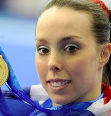 Beth Tweddle brings children's gymnastics programme to Wellington School in Altrincham