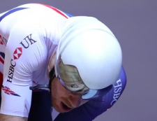Gold for GB cyclists Ed Clancy and Charlie Tanfield