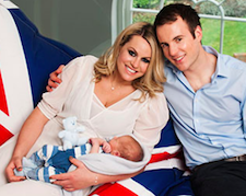 Olympic skier Chemmy Alcott expecting second baby with husband Dougie Crawford