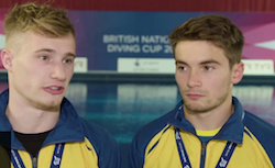 British National Diving Cup: Jack Laugher and Dan Goodfellow secure maiden gold
