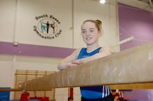 Star gymnast Amy Tinkler enjoying Basildon switch