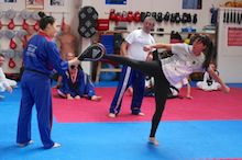 Beth helps extend Olympic fever at Wirral & Chester Taekwondo Academy