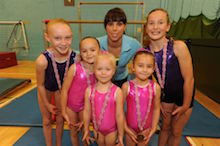 Beth to visit Warminster gymnastics centre