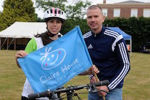 Beth takes part in 'record-breaking' Liverpool-Chester-Liverpool bike ride