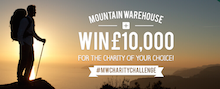 Mountain Warehouse announce winner of  2015 Charity Challenge
