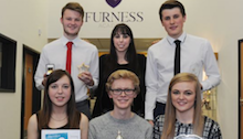 Beth visits Barrow school to give talk