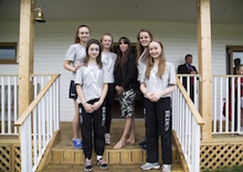 Pupils meet Beth to mark Olympic Day