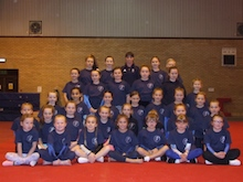 Balmoor gymnasts and coaches meet Olympic gymnast Beth!