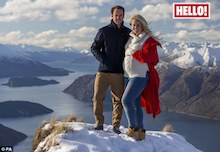 'My acupuncturist told me I was pregnant!' Olympic skier Chemmy Alcott reveals she's expecting first child with husband Dougie Crawford