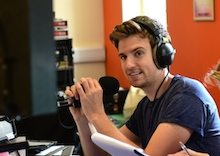 BBC Radio One presenter Greg James to run through Norwich for Sport Relief Gregathlon challenge