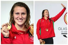 Welsh swimmers Jazz Carlin and Georgia Davies claim more Mare Nostrum success