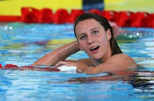 Swimmers talk up anticipation with one year to go until European Aquatics Championships in London