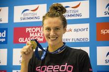 Jazz Carlin wins British 200m freestyle title in Glasgow