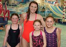 Olympic medallist opens £3m pool