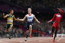 London 2012 hero Jonnie aims for Paralympic gold in Rio  and more besides
