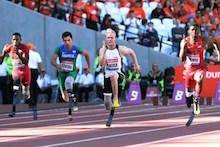 Anniversary Games: Jonnie and David Weir denied triumphant returns to the Olympic Stadium
