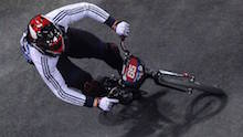 Great Britain BMX use drone aircraft sensor technology
