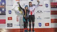 Liam claims historic second UCI BMX Supercross World Cup title