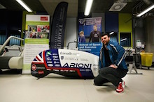 Rob chosen to pilot human powered vehicle record attempt