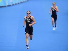 Triathlon trail ends in bronze for Vicky