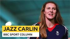 Jazz Carlin column: Pneumonia, throwing elbows and 10k training sets