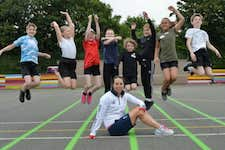 Thrapston pupils inspired by Olympic medallist's visit
