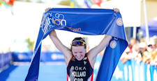 Holland and Murray victorious as 2018 ITU World Cup series starts in Cape Town